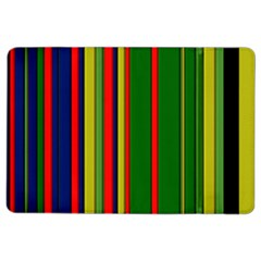 Hot Stripes Grenn Blue iPad Air 2 Flip