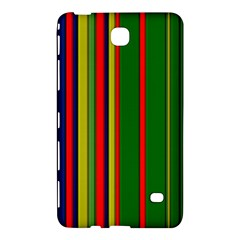 Hot Stripes Grenn Blue Samsung Galaxy Tab 4 (7 ) Hardshell Case