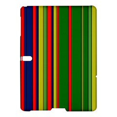 Hot Stripes Grenn Blue Samsung Galaxy Tab S (10.5 ) Hardshell Case