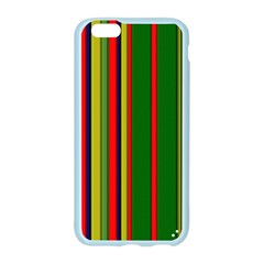 Hot Stripes Grenn Blue Apple Seamless iPhone 6 Case (Color)