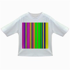 Hot Stripes Rainbow Infant/toddler T Shirts