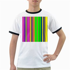 Hot Stripes Rainbow Ringer T-Shirts