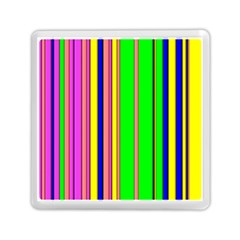 Hot Stripes Rainbow Memory Card Reader (Square)