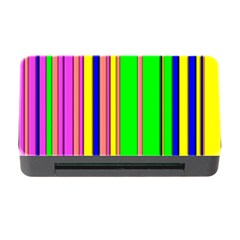 Hot Stripes Rainbow Memory Card Reader with CF