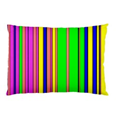 Hot Stripes Rainbow Pillow Cases (two Sides)