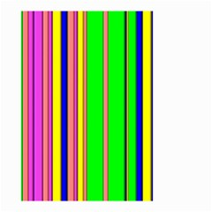 Hot Stripes Rainbow Small Garden Flag (Two Sides)
