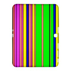 Hot Stripes Rainbow Samsung Galaxy Tab 4 (10.1 ) Hardshell Case
