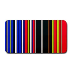 Hot Stripes Red Blue Medium Bar Mats