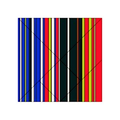 Hot Stripes Red Blue Acrylic Tangram Puzzle (4  X 4 )