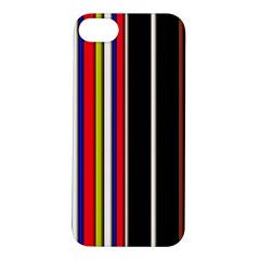 Hot Stripes Red Blue Apple Iphone 5s Hardshell Case
