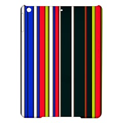 Hot Stripes Red Blue Ipad Air Hardshell Cases