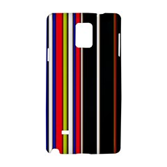 Hot Stripes Red Blue Samsung Galaxy Note 4 Hardshell Case