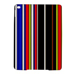 Hot Stripes Red Blue iPad Air 2 Hardshell Cases