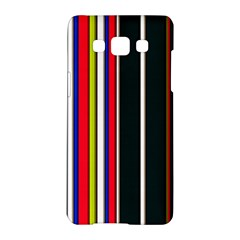 Hot Stripes Red Blue Samsung Galaxy A5 Hardshell Case