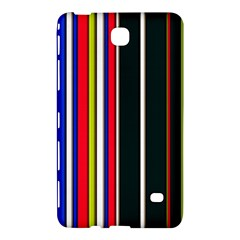 Hot Stripes Red Blue Samsung Galaxy Tab 4 (8 ) Hardshell Case