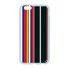 Hot Stripes Red Blue Apple Seamless iPhone 6 Case (Color)