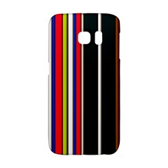 Hot Stripes Red Blue Galaxy S6 Edge