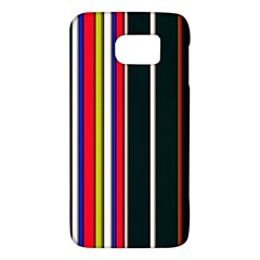 Hot Stripes Red Blue Galaxy S6