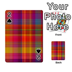 Plaid, Hot Playing Cards 54 Designs