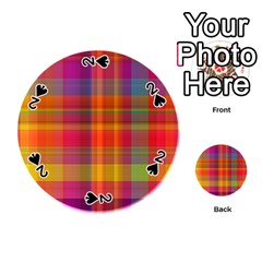 Plaid, Hot Playing Cards 54 (round)