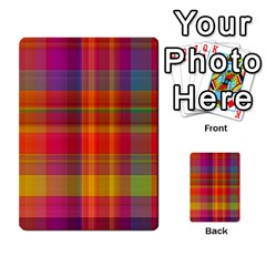 Plaid, Hot Multi Purpose Cards (rectangle)