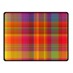 Plaid, Hot Fleece Blanket (Small)