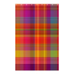 Plaid, Hot Shower Curtain 48  x 72  (Small)