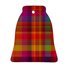 Plaid, Hot Bell Ornament (2 Sides)