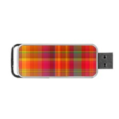 Plaid, Hot Portable USB Flash (Two Sides)