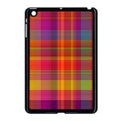 Plaid, Hot Apple Ipad Mini Case (black)