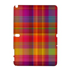 Plaid, Hot Samsung Galaxy Note 10 1 (p600) Hardshell Case