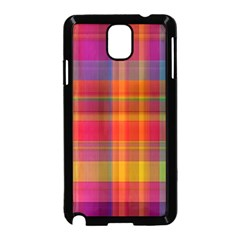Plaid, Hot Samsung Galaxy Note 3 Neo Hardshell Case (black)