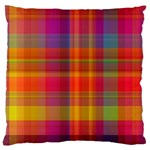 Plaid, Hot Standard Flano Cushion Cases (One Side)  Front