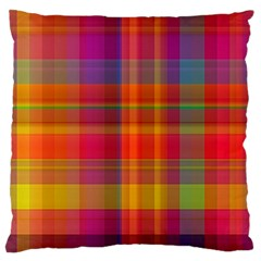 Plaid, Hot Large Flano Cushion Cases (two Sides)