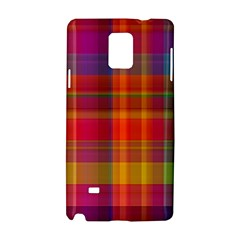 Plaid, Hot Samsung Galaxy Note 4 Hardshell Case