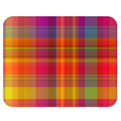 Plaid, Hot Double Sided Flano Blanket (Medium)