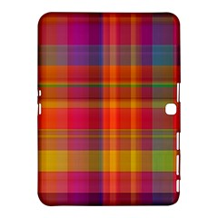 Plaid, Hot Samsung Galaxy Tab 4 (10.1 ) Hardshell Case