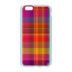 Plaid, Hot Apple Seamless iPhone 6 Case (Color)