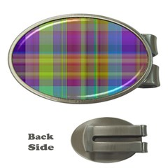 Plaid, Cool Money Clips (oval)