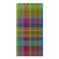 Plaid, Cool Shower Curtain 36  x 72  (Stall)