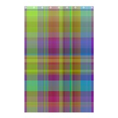 Plaid, Cool Shower Curtain 48  x 72  (Small)