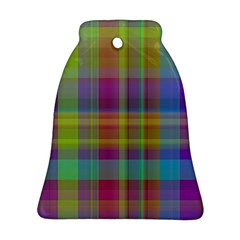 Plaid, Cool Bell Ornament (2 Sides)