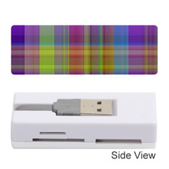 Plaid, Cool Memory Card Reader (Stick)
