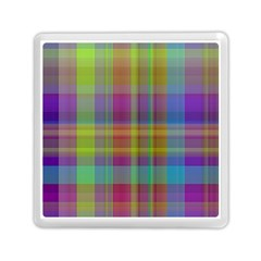 Plaid, Cool Memory Card Reader (Square)