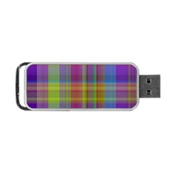 Plaid, Cool Portable USB Flash (One Side)