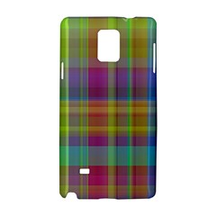 Plaid, Cool Samsung Galaxy Note 4 Hardshell Case