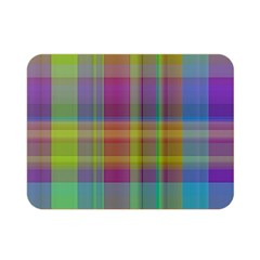Plaid, Cool Double Sided Flano Blanket (Mini)