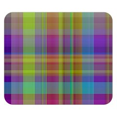 Plaid, Cool Double Sided Flano Blanket (Small)