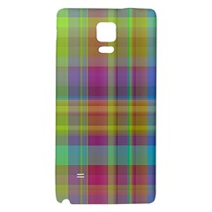 Plaid, Cool Galaxy Note 4 Back Case