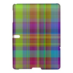 Plaid, Cool Samsung Galaxy Tab S (10.5 ) Hardshell Case